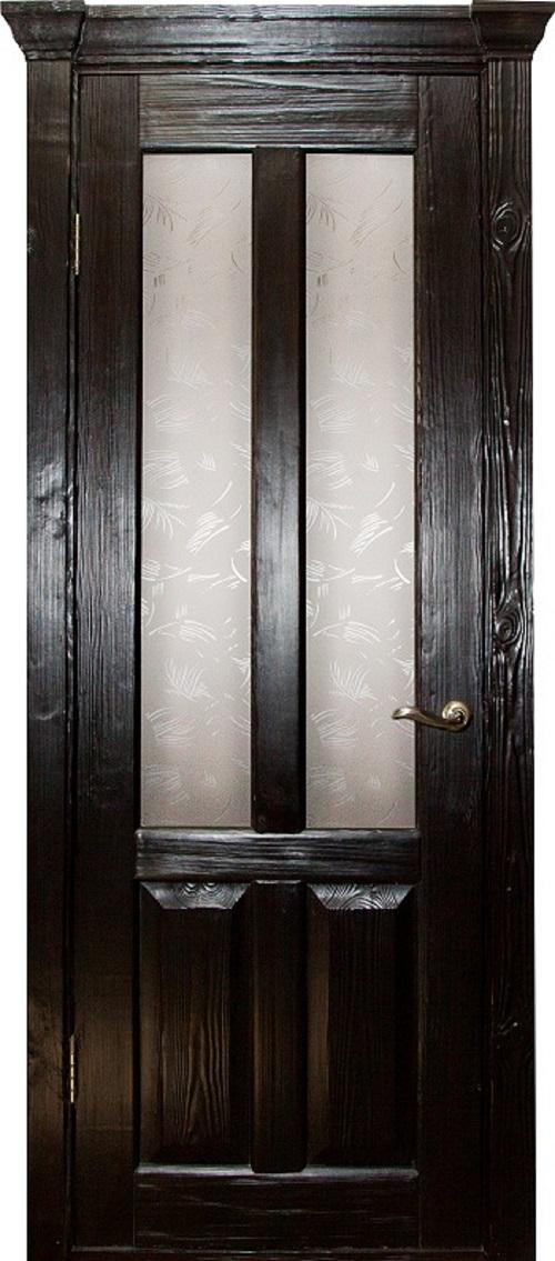 металлические двери массив сосны